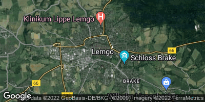 Google Map of Lemgo