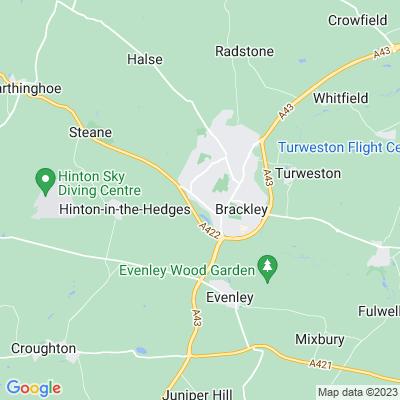 Brackley Union Workhouse Location