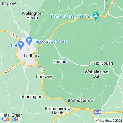 Eastnor Castle Location