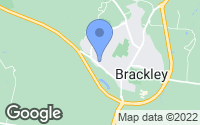 Map of Brackley, Northamptonshire