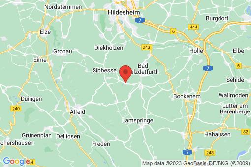 Karte Almstedt