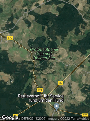 Google Map of Märkische Heide