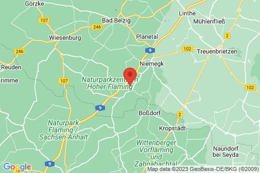 Karte Rabenstein/Fläming