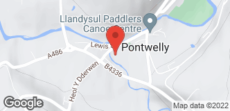 West Wales Gas location