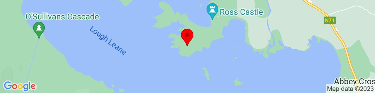Google Map of 52.03638055555555, -9.538752777777777