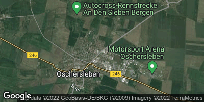 Google Map of Oschersleben