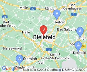 Karte für EuroEddy Bielefeld