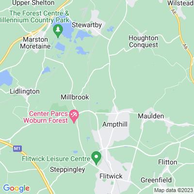 Ampthill Park Location