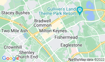 Map of Milton Keynes