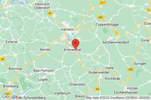 Karte Emmerthal