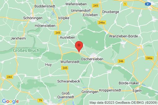 Karte Hornhausen
