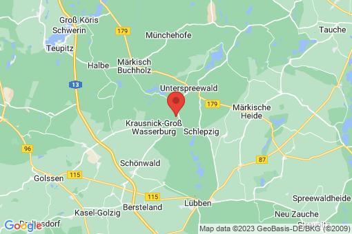 Karte Krausnick-Groß Wasserburg