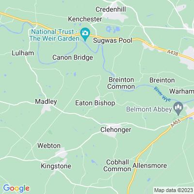 Rectory, The, Eaton Bishop Location