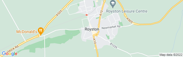 Map Of Royston