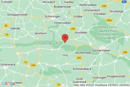 Karte Am Großen Bruch Gunsleben