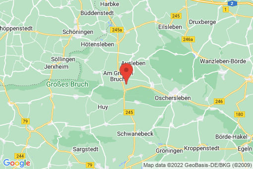 Karte Am Großen Bruch Neuwegersleben