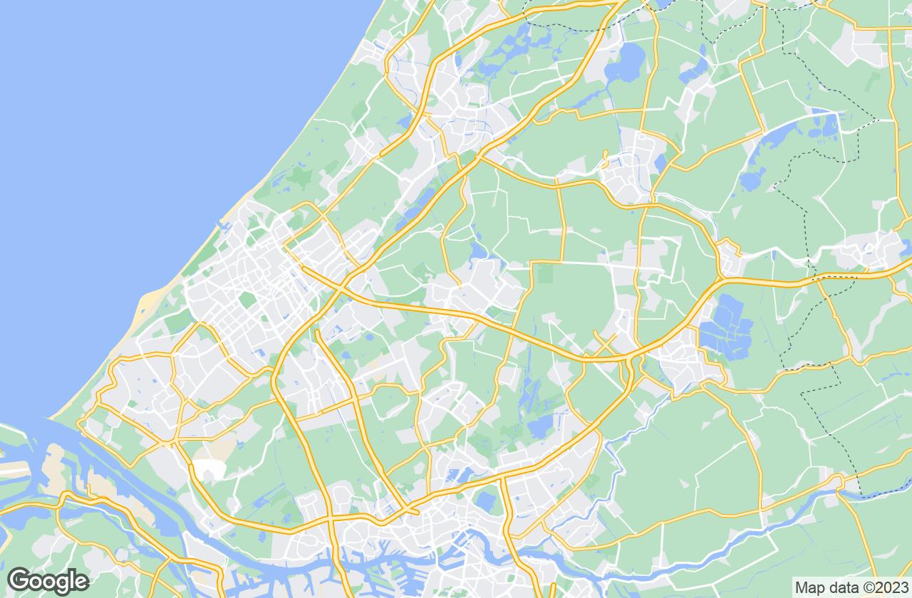 Google Map of Zoetermeer