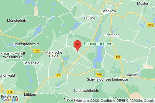 Karte Schuhlen-Wiese
