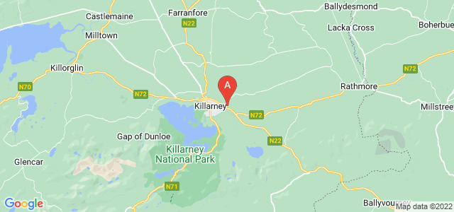 Ubicación Casa en venta en Kerry, Killarney, Ballyspillane