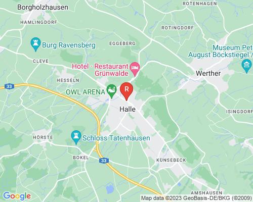 Google Karte von Rohrreinigung Halle
