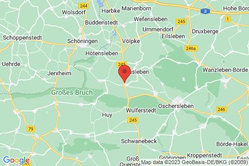 Karte Am Großen Bruch Hamersleben