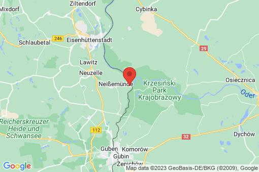 Karte Neißemünde Ratzdorf