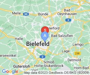 Karte für Paintball Halle Brake