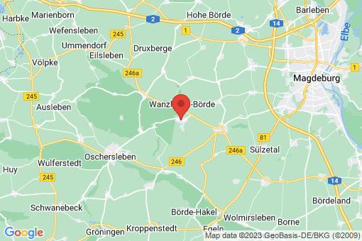 Karte Klein Wanzleben