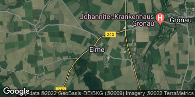 Google Map of Eime