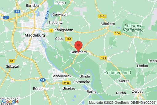 Karte Gommern