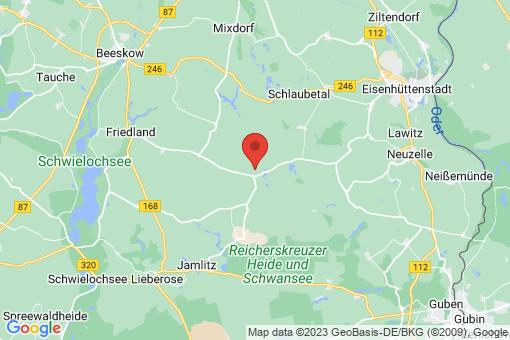 Karte Friedland Groß Muckrow