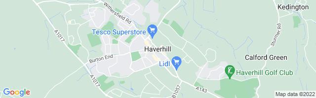 Map Of Haverhill