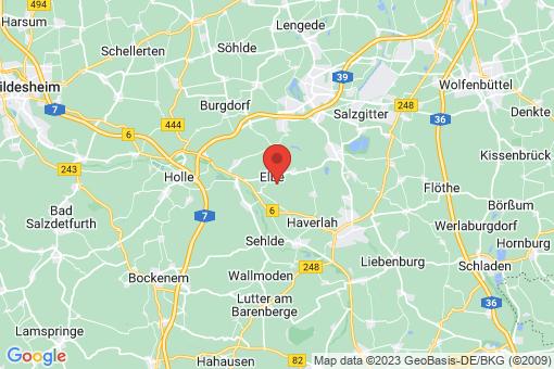 Karte Elbe