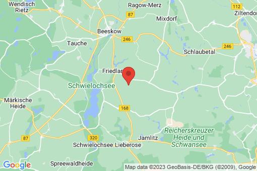 Karte Friedland Günthersdorf