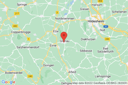 Karte Gronau (Leine)