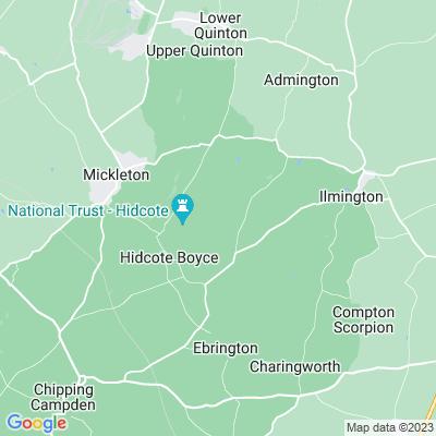 Hidcote Manor Location