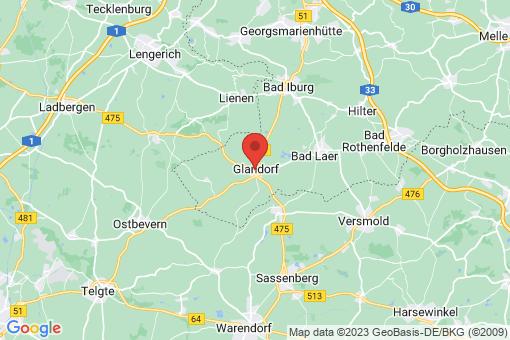 Karte Glandorf