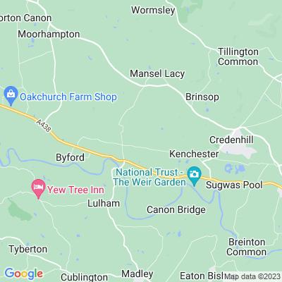Bishopstone Court Location