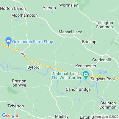 Bishopstone Rectory Location