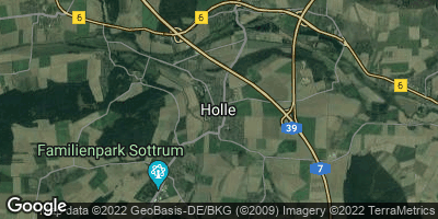 Google Map of Holle bei Hildesheim