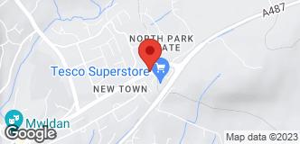 B&Q Supercentre Cardigan location