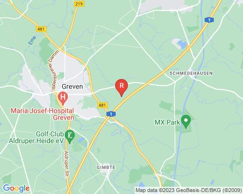 Google Karte von Rohrreinigung Greven