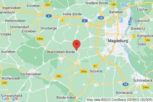 Karte Domersleben