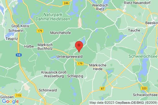 Karte Hohenbrück-Neu Schadow