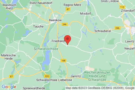 Karte Friedland