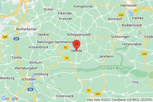 Karte Uehrde