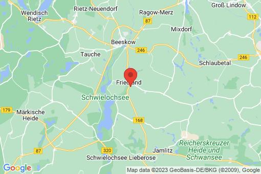 Karte Friedland Friedland