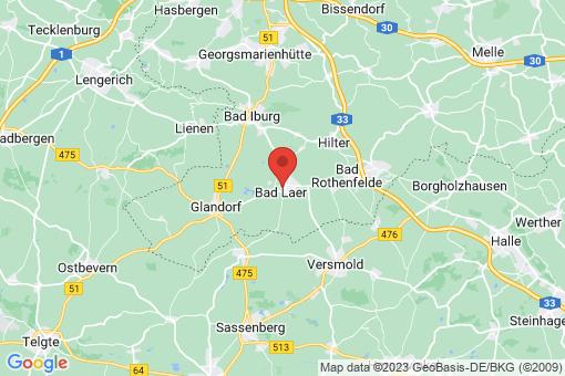 Karte Bad Laer