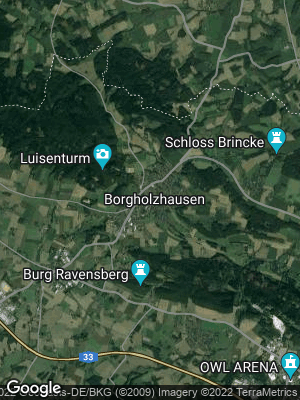 Google Map of Borgholzhausen