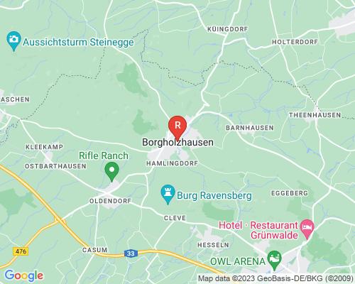 Google Karte von Rohrreinigung Borgholzhausen